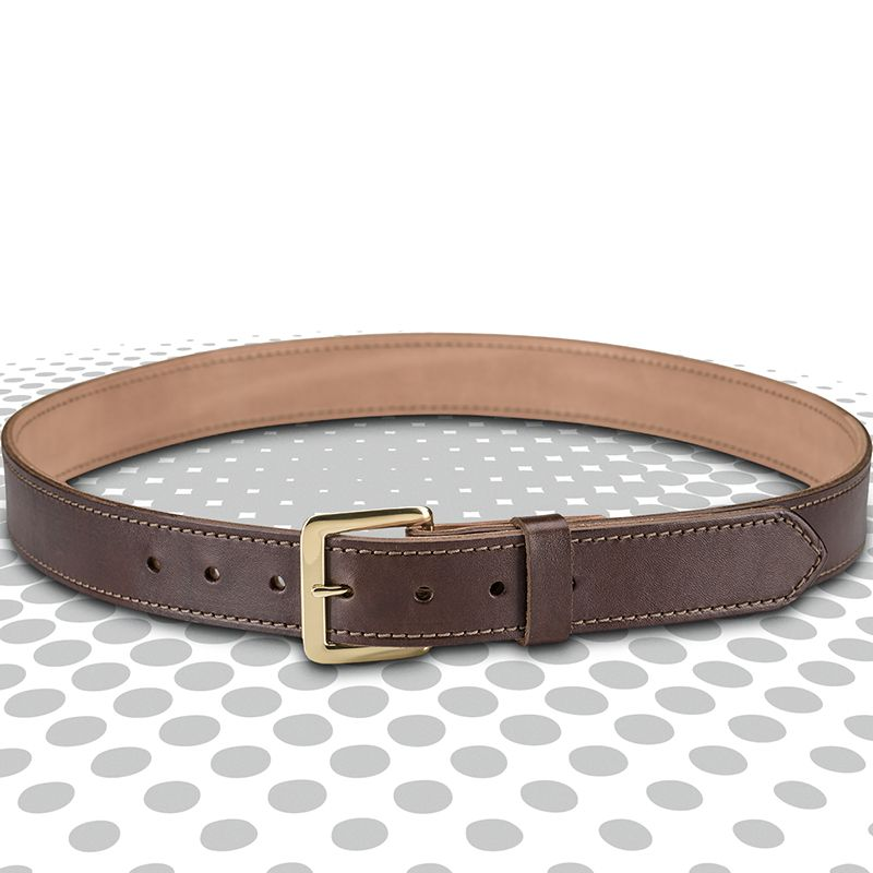 Springfield 1 5 Quot Dual Layered Brown Belt