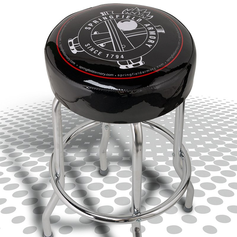 Sa Cross Cannons Bar Stool