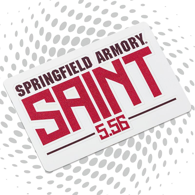 Springfield saint sticker