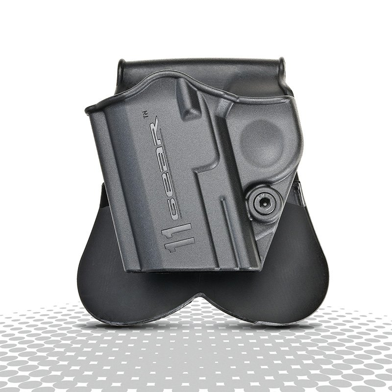 1911 A1 One Piece Paddle Holster Left Hand