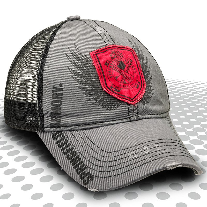 Cross Cannon Shield Cap
