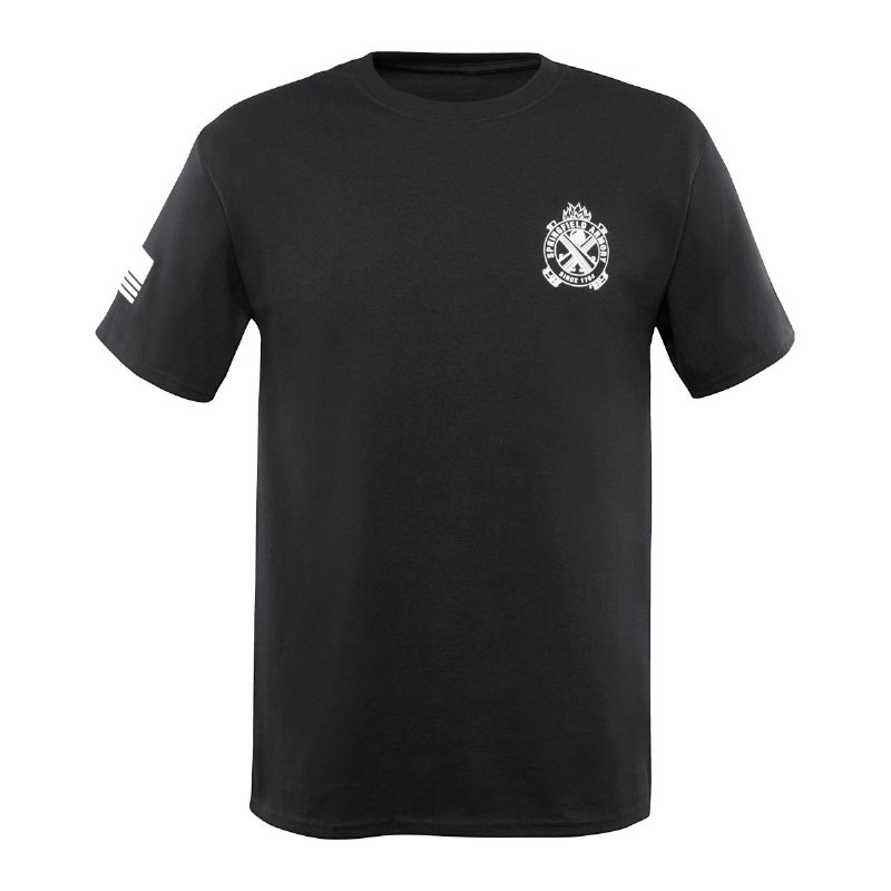 Photo of Springfield Crossed Cannon T-Shirt – Black